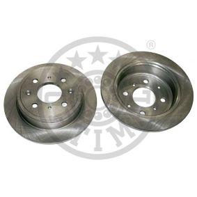 OPTIMAL  BS-0830 Bremsscheibe Bremsscheibendicke: 10mm, Ø: 238mm