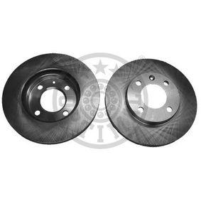 OPTIMAL  BS-0840 Bremsscheibe Bremsscheibendicke: 20mm, Ø: 239mm