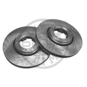 Bremsscheibe Bremsscheibendicke: 24,3mm, Ø: 254mm mit OEM-Nummer 5029 815