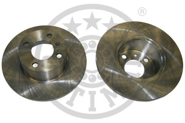 OPTIMAL  BS-1670 Bremsscheibe Bremsscheibendicke: 12,6mm, Ø: 255mm
