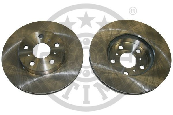 OPTIMAL  BS-1700 Bremsscheibe Bremsscheibendicke: 22mm, Ø: 255mm