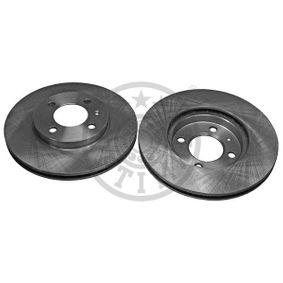 OPTIMAL  BS-1750 Bremsscheibe Bremsscheibendicke: 20mm, Ø: 256mm
