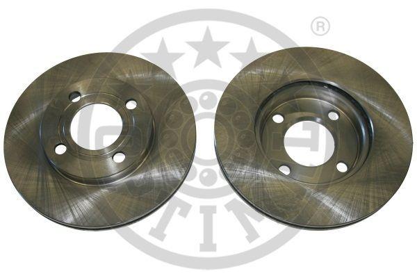 OPTIMAL  BS-1760 Bremsscheibe Bremsscheibendicke: 20mm, Ø: 256mm
