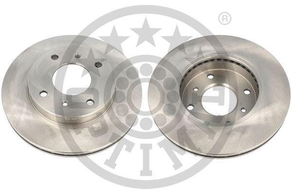 OPTIMAL  BS-1790 Bremsscheibe Bremsscheibendicke: 22mm, Ø: 256,5mm