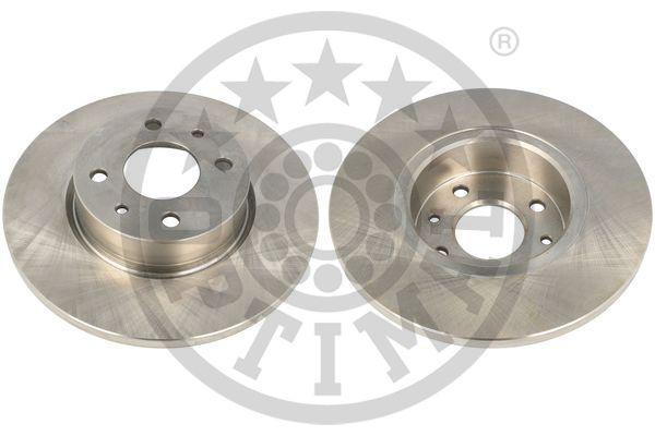 OPTIMAL  BS-1820 Bremsscheibe Bremsscheibendicke: 14mm, Ø: 257mm