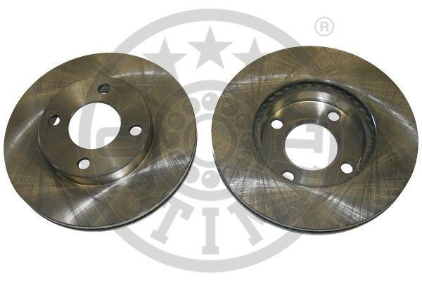OPTIMAL  BS-1850 Bremsscheibe Bremsscheibendicke: 22mm, Ø: 256mm