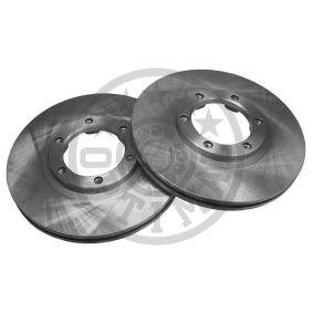 OPTIMAL  BS-1880 Bremsscheibe Bremsscheibendicke: 22mm, Ø: 257mm