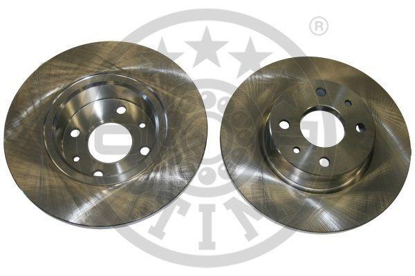 OPTIMAL  BS-1920 Bremsscheibe Bremsscheibendicke: 12mm, Ø: 257,2mm