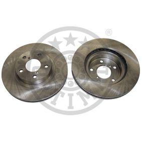 Bremsscheibe Bremsscheibendicke: 24mm, Ø: 260mm mit OEM-Nummer 26300-AE040
