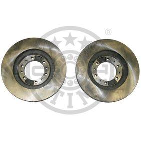 Brake Disc Brake Disc Thickness: 24mm, Ø: 276mm with OEM Number MR129648
