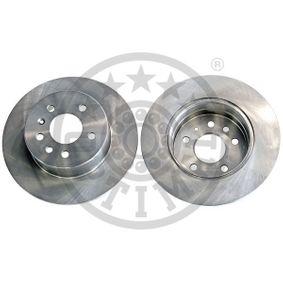 Bremsscheibe Bremsscheibendicke: 10mm, Ø: 286mm mit OEM-Nummer 4 837 027