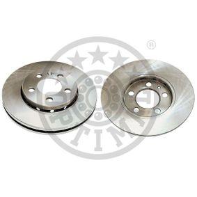 Bremsscheibe Bremsscheibendicke: 22mm, Ø: 256mm mit OEM-Nummer 6R0615301 C
