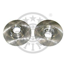 Bremsscheibe Bremsscheibendicke: 9,5mm, Ø: 213mm mit OEM-Nummer 21A2612