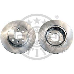 Bremsscheibe Bremsscheibendicke: 20,6mm, Ø: 259mm mit OEM-Nummer 7701 205 653
