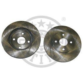 Disque de frein Epaisseur du disque de frein: 18mm, Ø: 254mm avec OEM numéro 4351216130