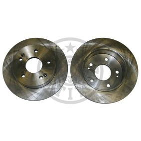Bremsscheibe Bremsscheibendicke: 9mm, Ø: 259,8mm mit OEM-Nummer 42510 S87 A00