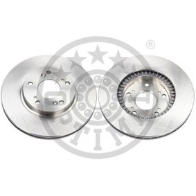 Brake Disc Brake Disc Thickness: 23mm, Ø: 282mm with OEM Number 45251TA5A00