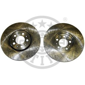 OPTIMAL  BS-8030 Bremsscheibe Bremsscheibendicke: 25mm, Ø: 288mm