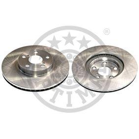 Disque de frein Epaisseur du disque de frein: 25mm, Ø: 275mm avec OEM numéro 43512 20 710