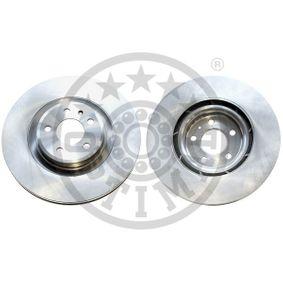 Brake Disc Brake Disc Thickness: 29,3mm, Ø: 345mm with OEM Number 8K0 615 301 K