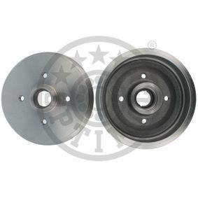 Bremstrommel Trommel-Ø: 180mm, Br.Tr.Durchmesser außen: 211,5mm mit OEM-Nummer 191501615