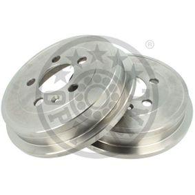 Bremstrommel Trommel-Ø: 200mm, Br.Tr.Durchmesser außen: 239,9mm mit OEM-Nummer 6QE 609 617