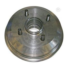 Brake Drum Drum Ø: 180mm, Outer Br. Sh. Diameter: 216mm, Rim: 4-Hole with OEM Number 4 034 886