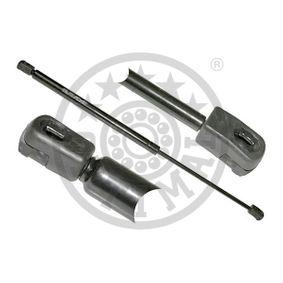 Muelle neumático, maletero / compartimento de carga Long. total: 495mm, Carrera: 198mm con OEM número 1U6 827 550E