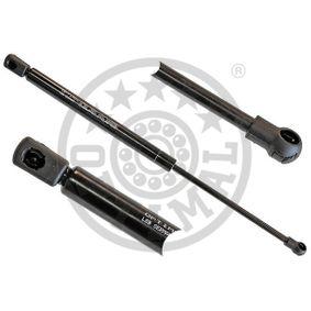 OPTIMAL  AG-40077 Heckklappendämpfer / Gasfeder Länge über Alles: 412mm, Hub: 163mm