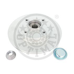 Disco de travão Espessura do disco de travão: 9mm, Ø: 249mm com códigos OEM 4249,34