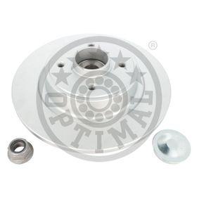 OPTIMAL Disco de travão 702603BS1 com códigos OEM 7701206328