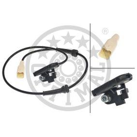 Sensor, Raddrehzahl Länge: 900mm mit OEM-Nummer 9658420780