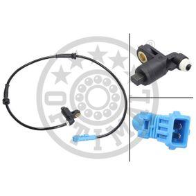 Sensor, wheel speed 06-S041 206 Hatchback (2A/C) 1.4 HDi MY 2007