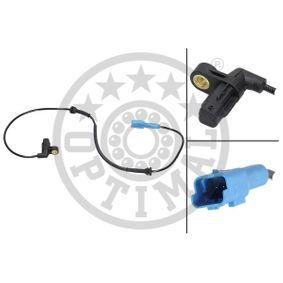 Sensor, Raddrehzahl Länge: 815mm mit OEM-Nummer 4545 99