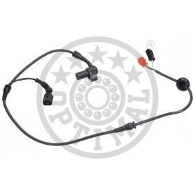 ABS Sensor VW PASSAT Variant (3B6) 1.9 TDI 130 PS ab 11.2000 OPTIMAL Sensor, Raddrehzahl (06-S143) für