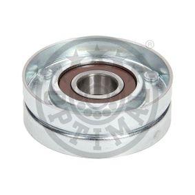 Tensioner Pulley, v-ribbed belt Ø: 65,5mm, Width: 22mm with OEM Number 25281-2A-100