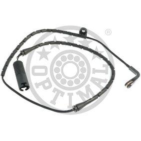 Warnkontakt, Bremsbelagverschleiß Warnkontaktlänge: 830mm mit OEM-Nummer 34-35-1-163-065