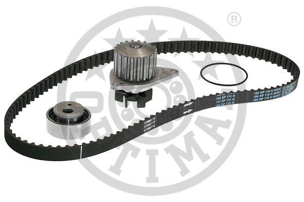 OPTIMAL  SK-1003AQ1 Wasserpumpe + Zahnriemensatz Breite: 17mm