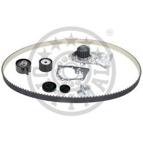 Wasserpumpe + Zahnriemensatz Breite: 27mm mit OEM-Nummer 8200142350