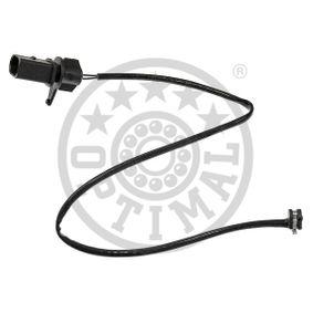 Verschleißanzeige Bremsbeläge VW PASSAT Variant (3B6) 1.9 TDI 130 PS ab 11.2000 OPTIMAL Warnkontakt, Bremsbelagverschleiß (WKT-60067K) für