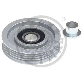 Deflection / Guide Pulley, v-ribbed belt Ø: 73mm with OEM Number 38942P01003