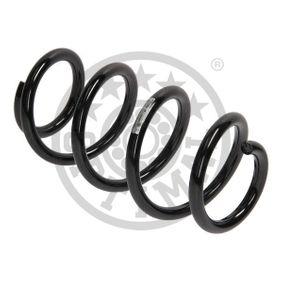 Fahrwerksfeder Länge: 288mm, Dicke/Stärke: 14mm, Ø: 139mm mit OEM-Nummer 8K0 411 105EB
