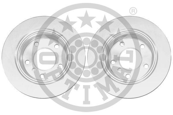 OPTIMAL  BS-4580C Bremsscheibe Bremsscheibendicke: 19mm, Ø: 276mm