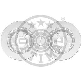 Bremsscheibe Bremsscheibendicke: 19mm, Ø: 276mm mit OEM-Nummer 34 21 6 855 155