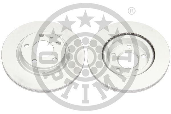 OPTIMAL  BS-5480C Bremsscheibe Bremsscheibendicke: 22mm, Ø: 280mm