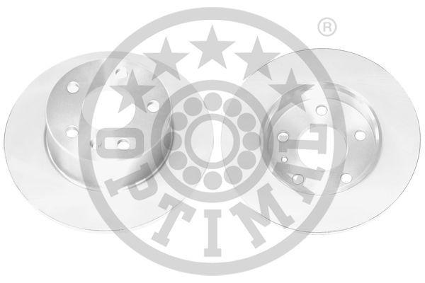 OPTIMAL  BS-5780C Bremsscheibe Bremsscheibendicke: 10mm, Ø: 263,2mm