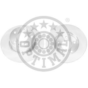 Bremsscheibe Bremsscheibendicke: 10mm, Ø: 263,2mm mit OEM-Nummer 95526658