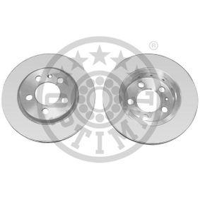 Bremsscheibe Bremsscheibendicke: 22mm, Ø: 256mm mit OEM-Nummer 8L0.615.601