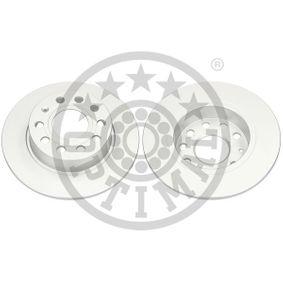 Bremsscheibe Bremsscheibendicke: 10mm, Ø: 253mm mit OEM-Nummer 1K0 615601AB