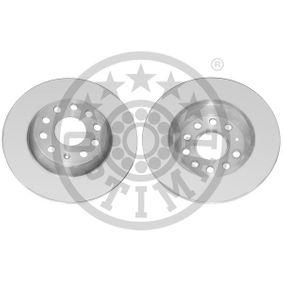 Bremsscheibe Bremsscheibendicke: 12mm, Ø: 282mm mit OEM-Nummer 1K0 615 601M